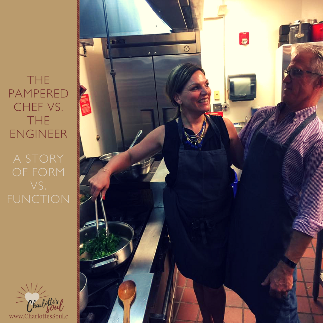 The Pampered Chef vs. The Engineer - A Story of Form vs. Function