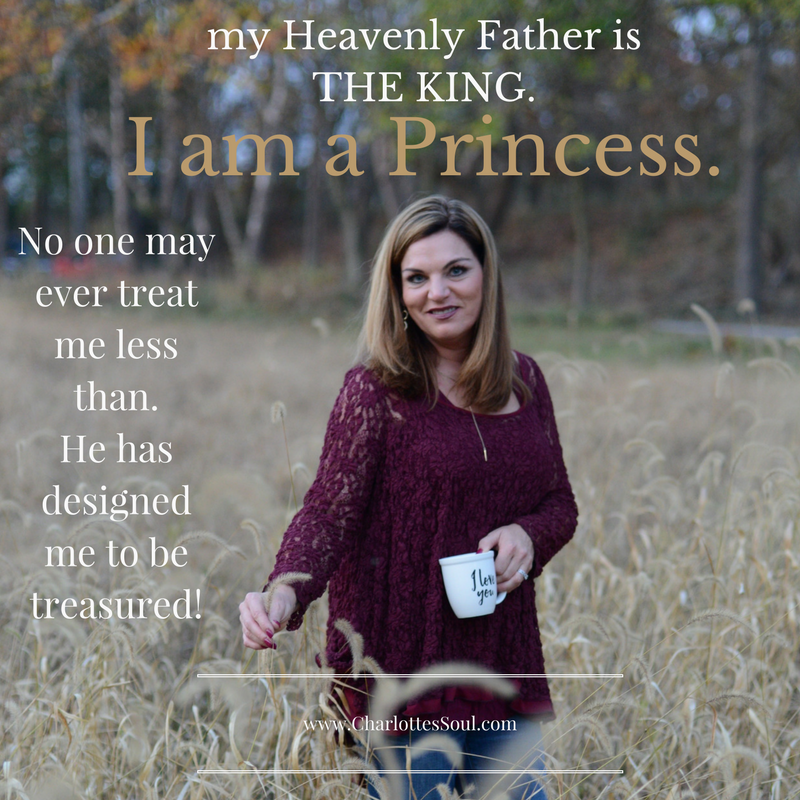 My heavenly Father is the King.
