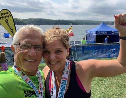 How A High School Coach inspired Me in My 1st Triathlon