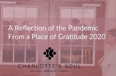 A Reflection of the Pandemic From a Place of Gratitude 2020